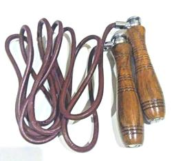 Everest Leather Skipping Jump Rope Adjustable Weight hand cr