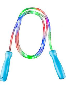 100 Inch Light Up Colorful Rainbow Classic Kids Jump Rope To