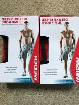 Lot Of 2 Weider Deluxe Speed Jump Rope Brand New In Boxes. F