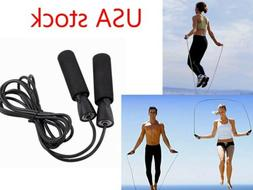 New Aerobic Exercise Boxing Skipping Jump Rope Adjustable Be