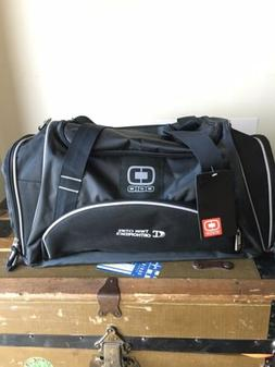 NEW OGIO Crunch Duffel/Gym Bag- Black With Tags Snap Handle