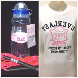 NEW TAG GIFT PK EVERLAST top & EVERLAST water bottle & EVERL