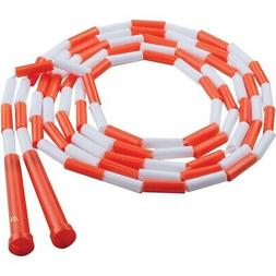 PLASTIC SEGMENTED ROPES 10FT ORANGE