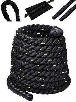 Comie Poly Dacron 30ft/40ft/50ft Length Battle Rope Exercise