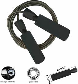 Professional Adjustable Steel Wire Jump Rope with Carrying P