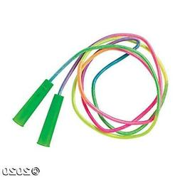 Rainbow Jump Rope Kids Childrens Exercise Fitness Skipping S