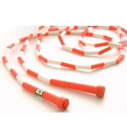 10' Red / White Segmented Skip Rope
