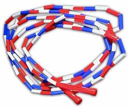 Red, White and Blue Segmented 16-ft Jump Rope