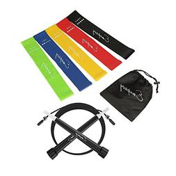 Emopavy Resistance Bands Exercise Bands Workout Bands Set of