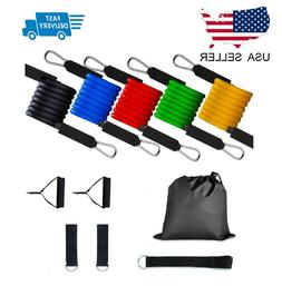 Resistance bands Set Workout with Handles Heavy Tube Exercis