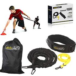 Pseudois Resistance Bungee Band, Running Training Bungee Wor