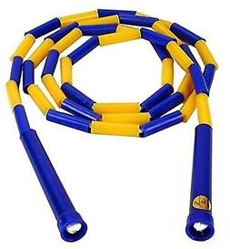 CSI Cannon Sports Segmented Jump Rope Yellow/Blue 6 New
