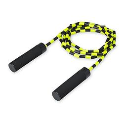 "BuyJumpRopes Segmented Jump Rope - Shatterproof 1"" Beads - B"