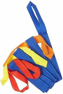 Safety Walking Rope with Colorful Handles for up to 6 Childr