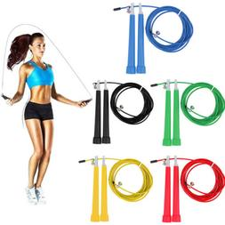 NEW 1PC Adjustable Skipping Rope Speed Jump Aerobic Fitness