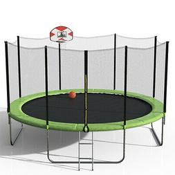 SkyBound Replacement Trampoline Net for 14ft JumpZone frame