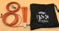 321 STRONG Speed Jump Rope 10' Adjustable Length, Plastic