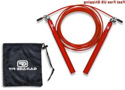 Garage Fit Speed Jump Rope - Cable Jump Rope - Speed Rope -