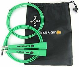 WOD Nation Speed Jump Rope Blazing Fast Rope For Endurance T