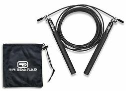 Garage Fit Speed Jump Rope for Double Unders - Ultra Light S