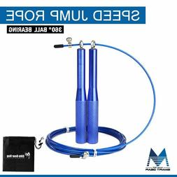Speed Jump Skipping Rope-9ft Adjustable Cable Boxing Fitness