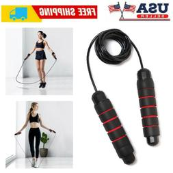 Speed Skipping Jump Rope Adjustable Fitness Exercise Gym Box