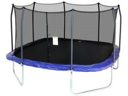 Skywalker Trampolines 15-ft. Square Trampoline and Enclosure