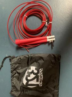 321 Strong Aluminum Jump Rope. Adjustable. Black. Free Shipp