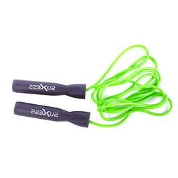 Suxess Adjustable Length Jump Rope with Contoured Handles Sk