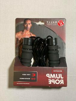 Bally Total Fitness Weighted Jump Rope 9 Foot Length Adjusta