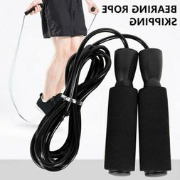 US Aerobic Exercise Boxing Skipping Jump Rope Adjustable Bea