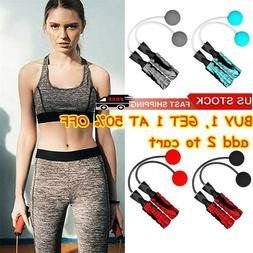 USA Ropeless Jump Rope Adjustable Cordless Skipping Weighted