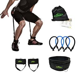 FIGROL Vertical Bounce Trainer Leg Resistance Bands Set-Leg