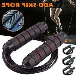 Weighted Jump Rope Solid Pro for Crossfit and Boxing Heavy J