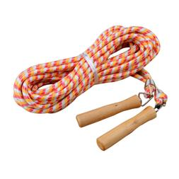 KUKOME Wooden Handle Skipping Rope/Jumping Ropes - Great for