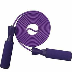 YZL Adjustable Jump Rope with Carrying Pouch by Fitness Fact
